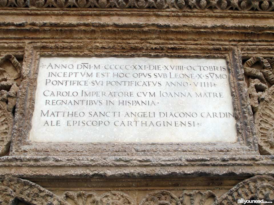 Torre-Campanario de la Catedral de Murcia