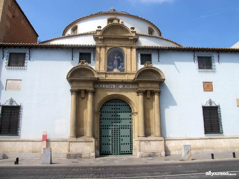 Church of Our Father Jesus in Murcia