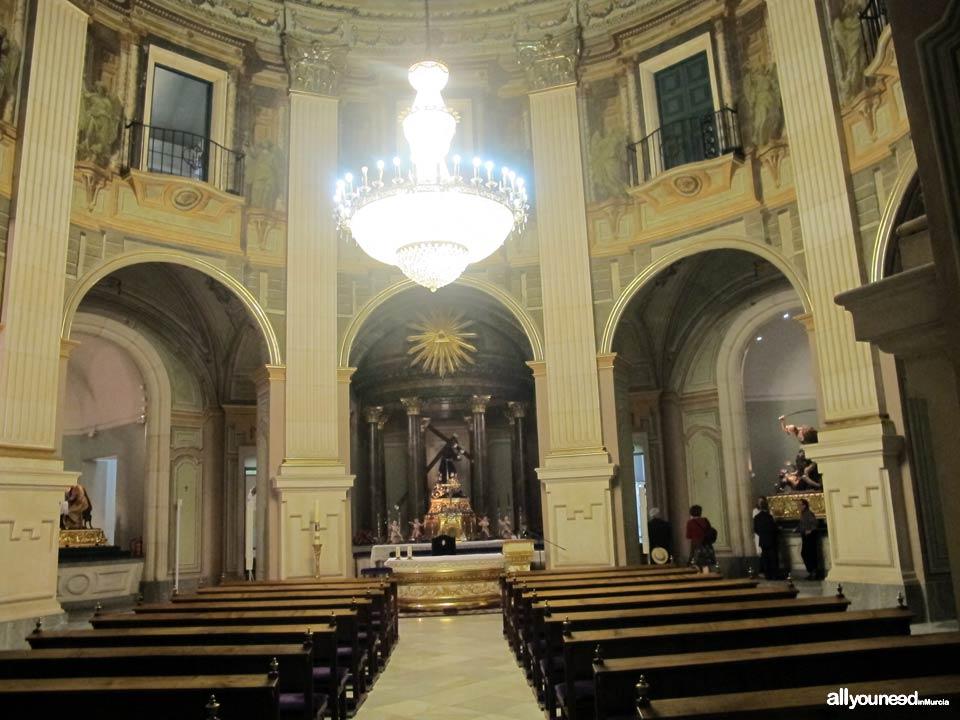 Iglesia de Nuestro Padre Jesús y Museo Salzillo en Murcia