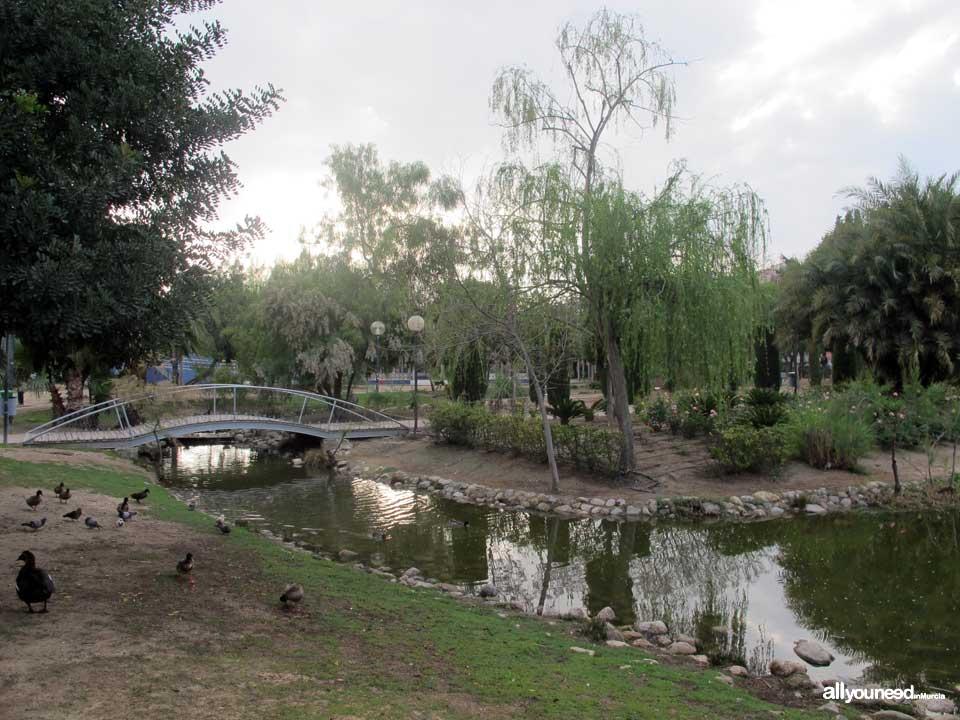 La seda garden for Jardin de la polvora murcia