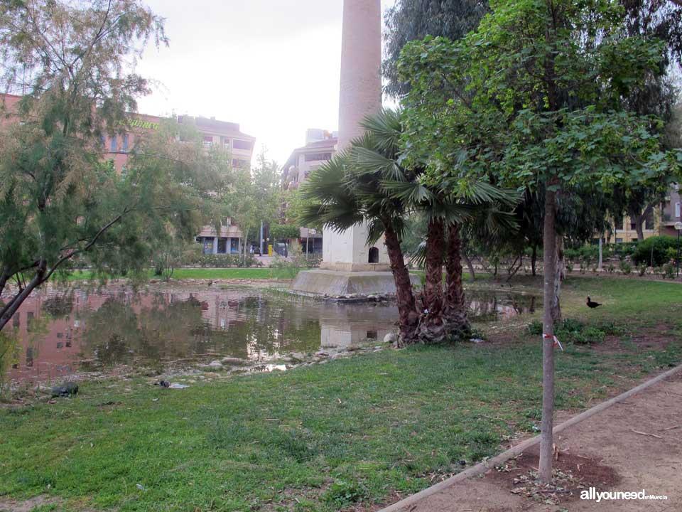 Jard n de la seda for Jardin de la polvora murcia