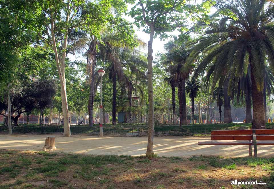 Jardín de la Constitución