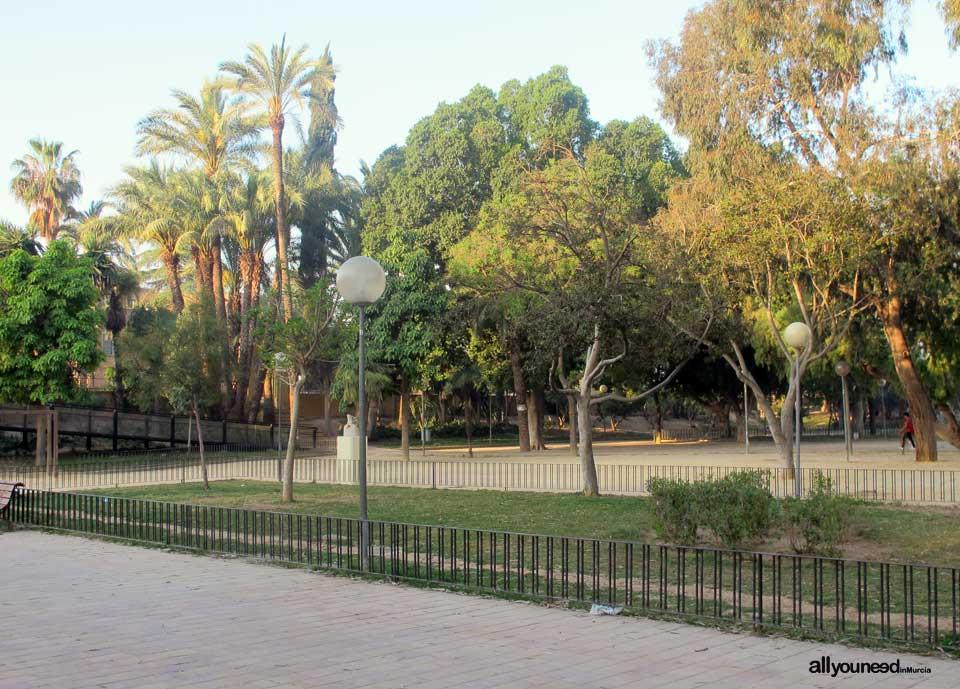 Jardín del Malecón en Murcia