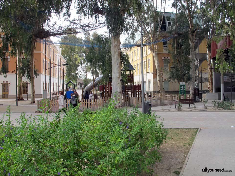 Jardín Cuartel de Artillería
