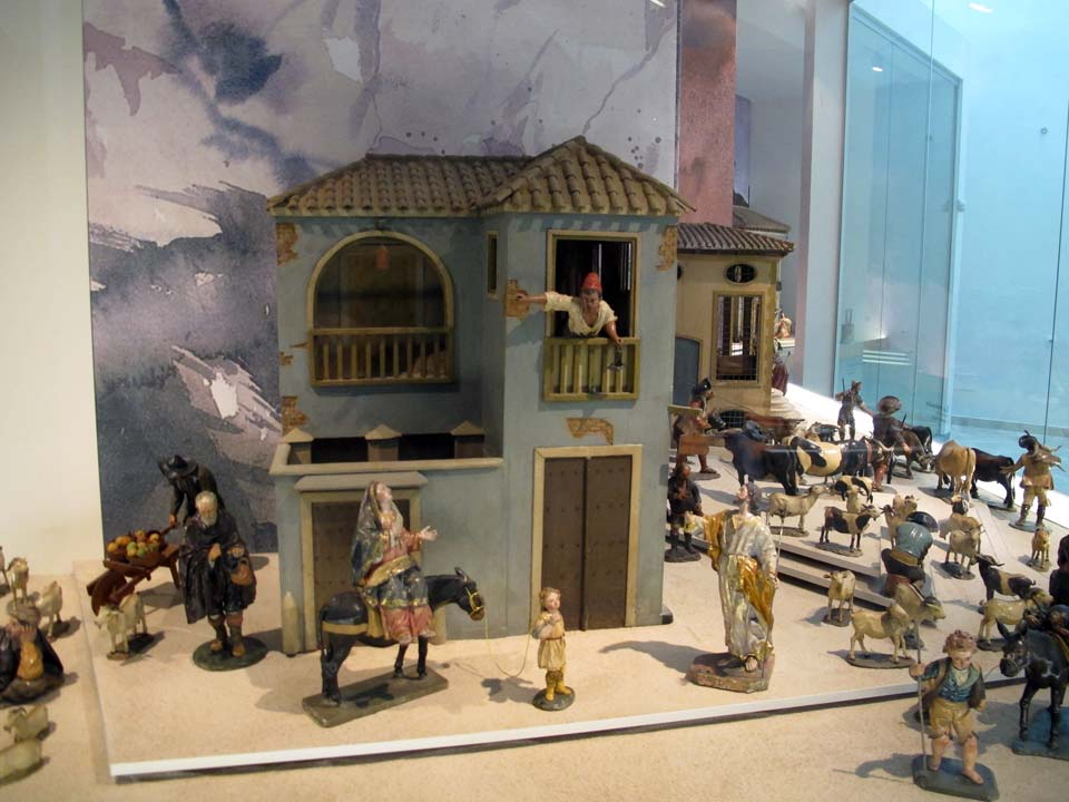 Salzillo Museum in Murcia. Church of Our Father Jesus. Nativity Scene