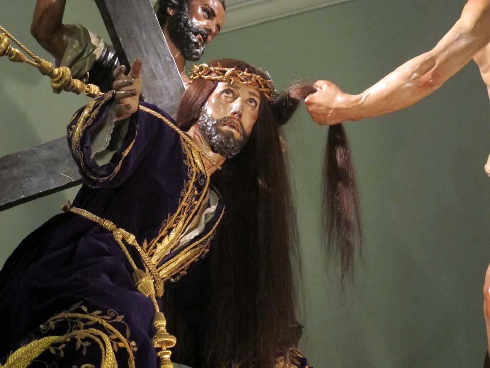 Museo Salzillo en Murcia. Iglesia de Nuestro Padre Jesús. La Caída