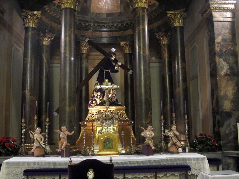Nuestro Padre Jesús Museo Salzillo en Murcia. Iglesia de Nuestro Padre Jesús.