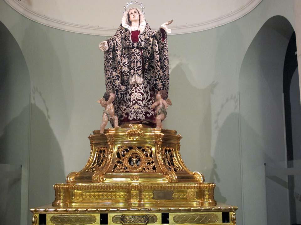 Museo Salzillo en Murcia. Iglesia de Nuestro Padre Jesús. La Dolorosa