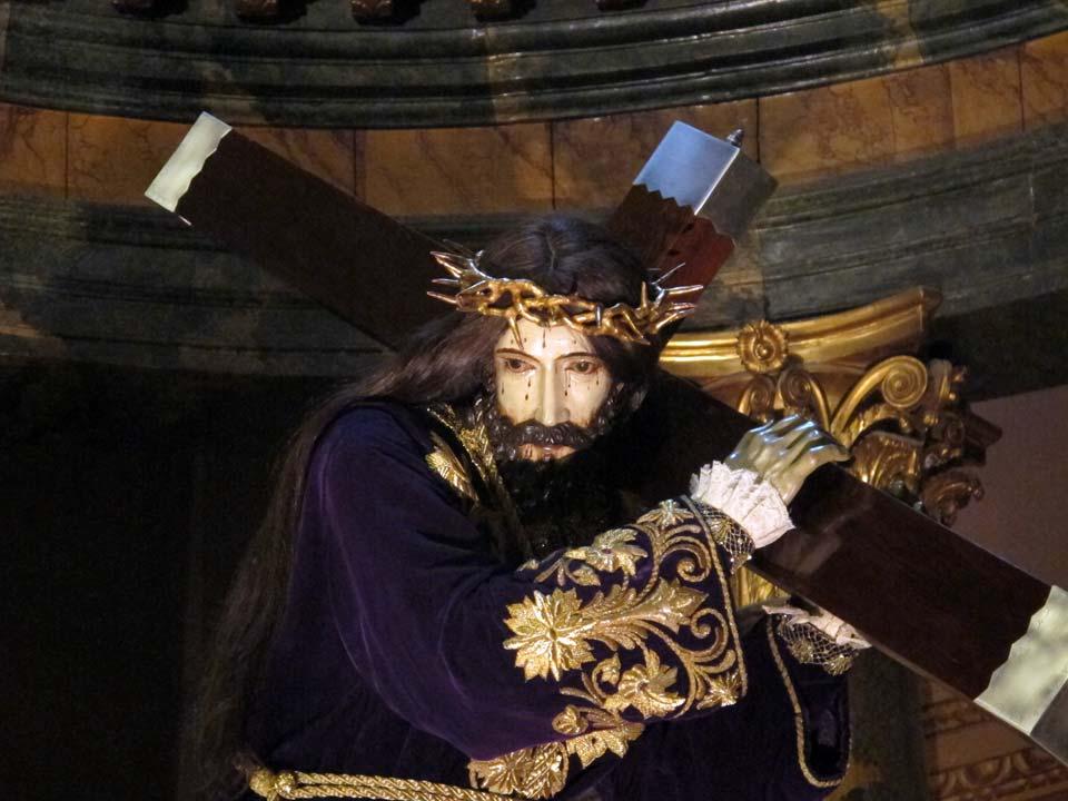 Museo Salzillo en Murcia. Iglesia de Nuestro Padre Jesús. Nuestro Padre Jesús