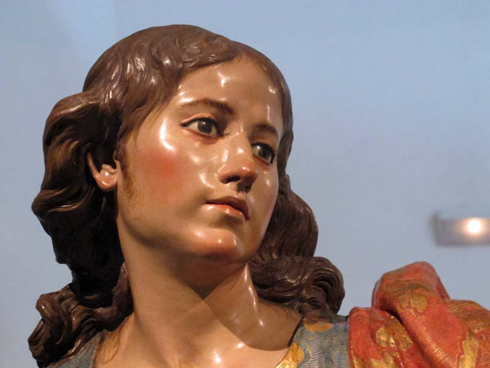 Museo Salzillo en Murcia. Iglesia de Nuestro Padre Jesús. San Juan