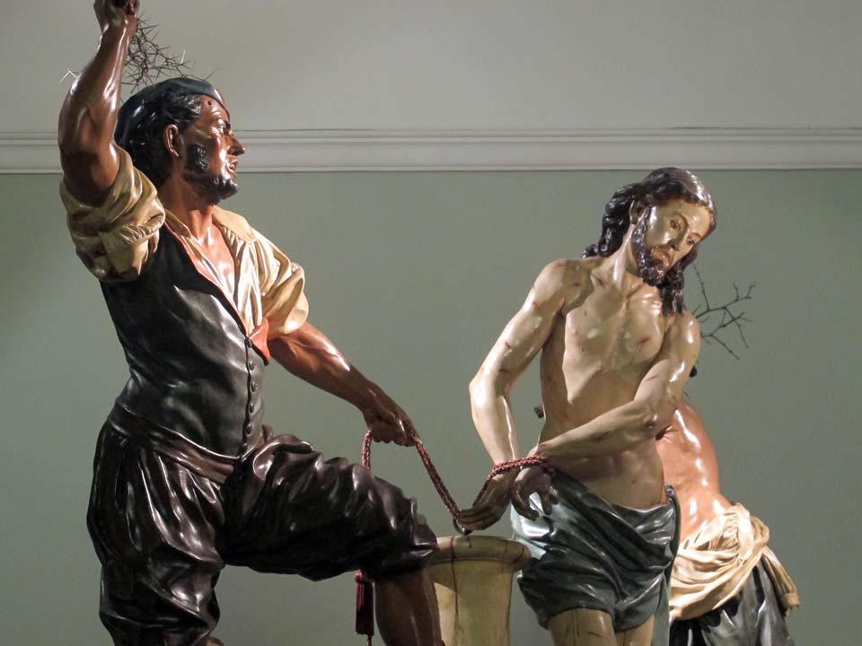Museo Salzillo en Murcia. Iglesia de Nuestro Padre Jesús. Los Azotes