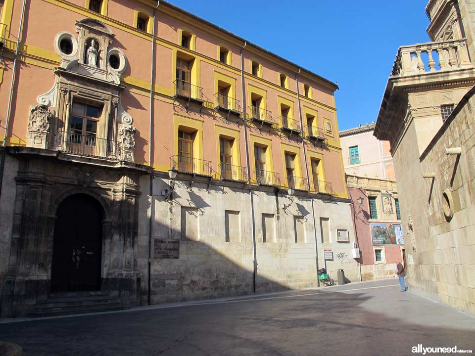 The Former Seminary of San Fulgencio