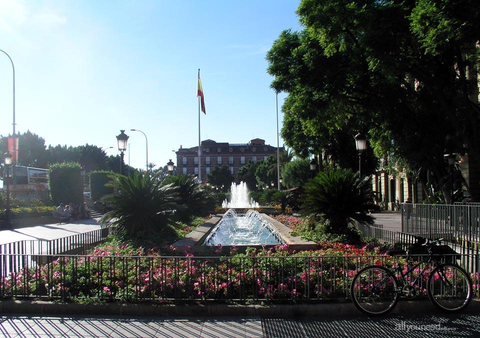 La Glorieta de España in Murcia
