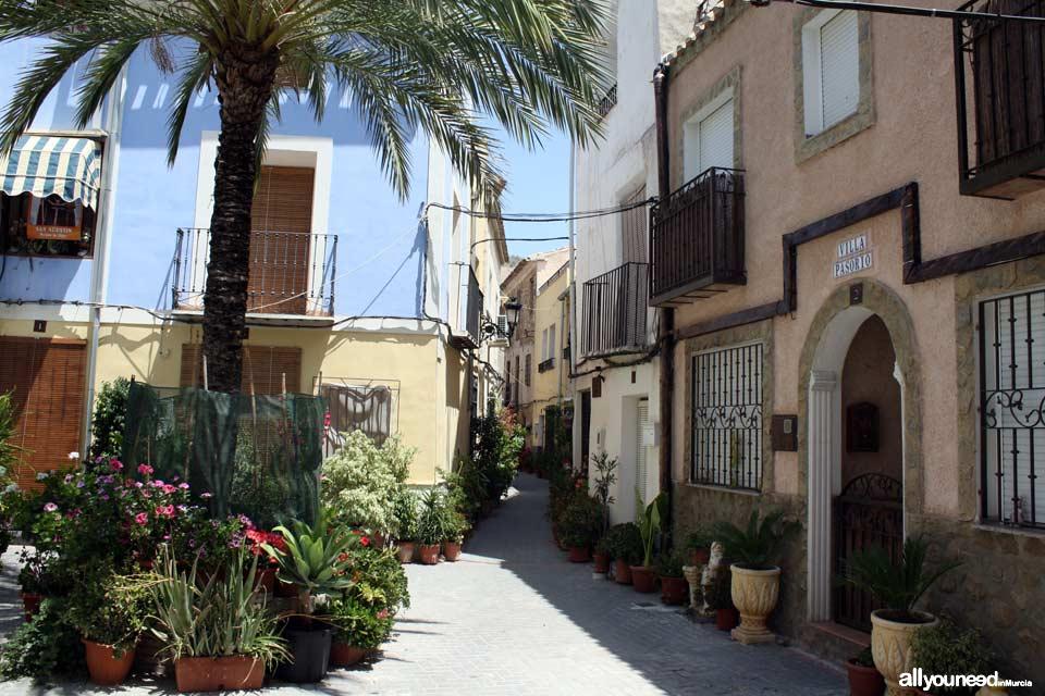 Calle Cánovas del Castillo de Ojós