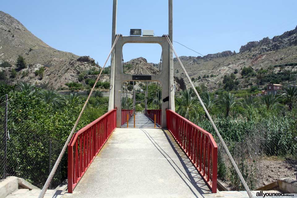 Puente Colgante de Ojós