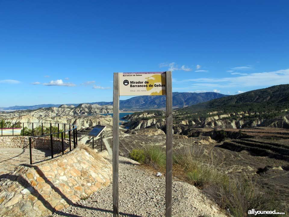 Barrancos de Gebas. End of driving