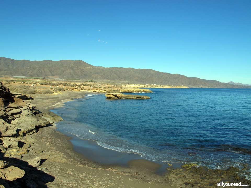 Parque Regional de Cabo Cope y Puntas de Calnegre. Playa de la Galera