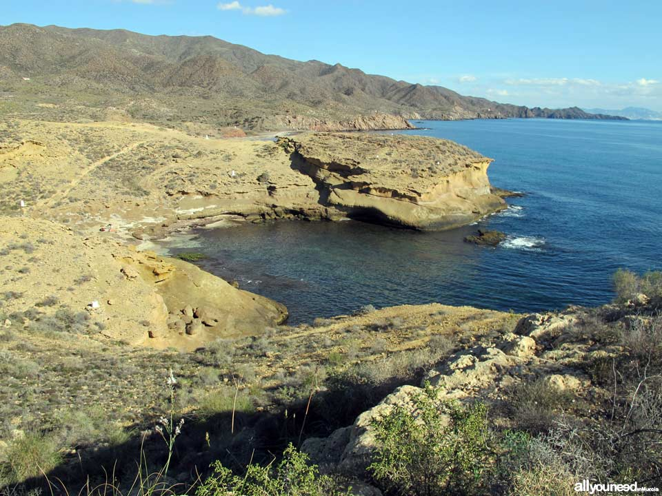 Cabo Cope and Puntas de Calnegre Regional Park. Around Cala Blanca
