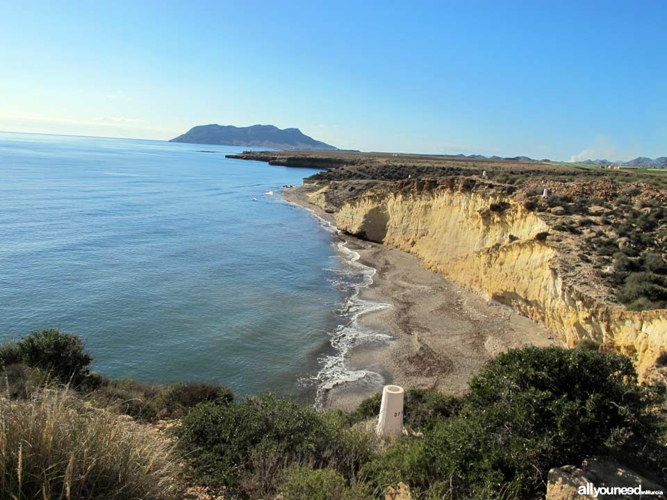 Cabo Cope and Puntas de Calnegre Regional Park. Playa Larga