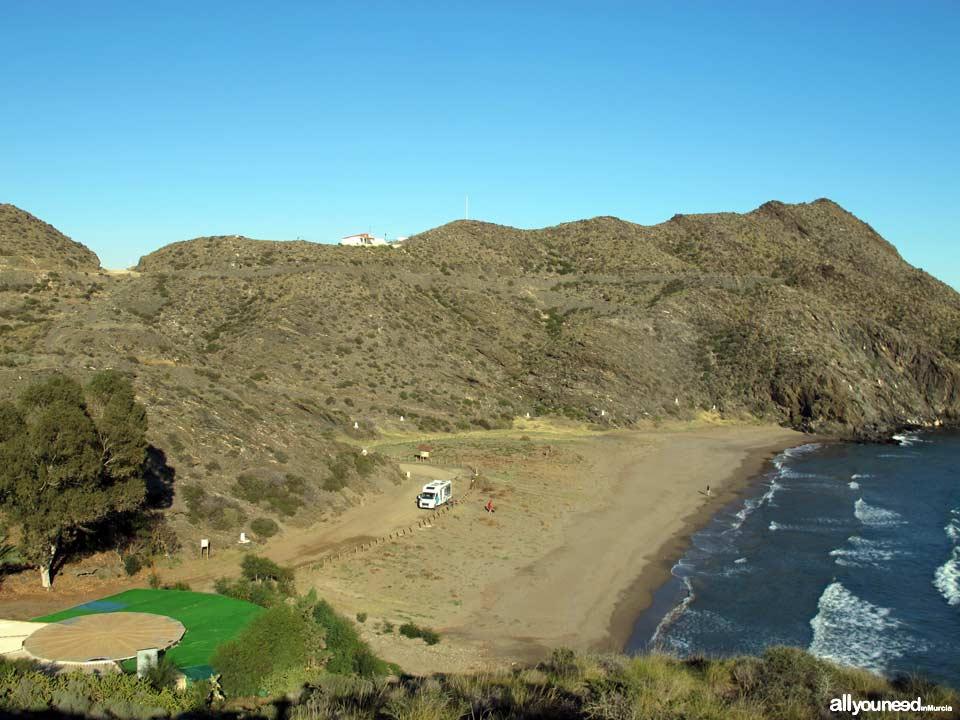 Parque Regional de Cabo Cope y Puntas de Calnegre. Playa de Calnegre