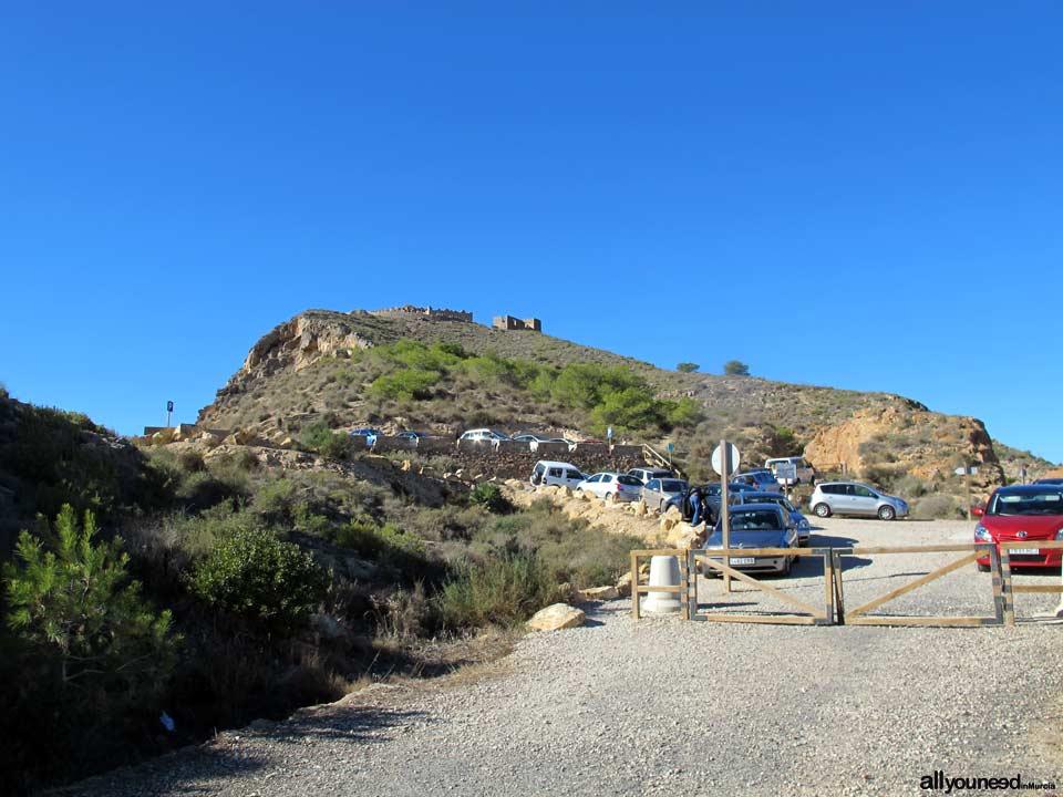 Ruta Cabo Tiñoso (Castillitos)- Cala Salitrona. 1 SL-MU. Aparcamiento