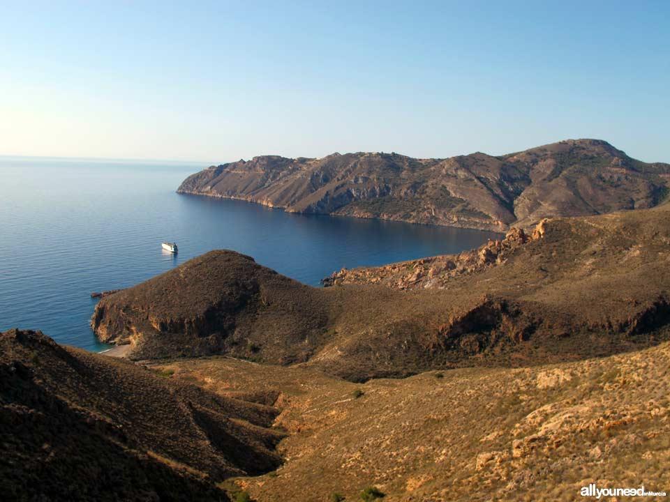 Cabo Tiñoso. Batería de Castillitos
