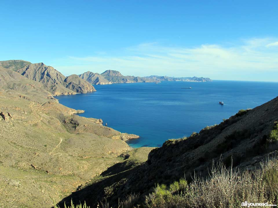 Cabo Tiñoso. Panoramic views from Cabo Tiñoso