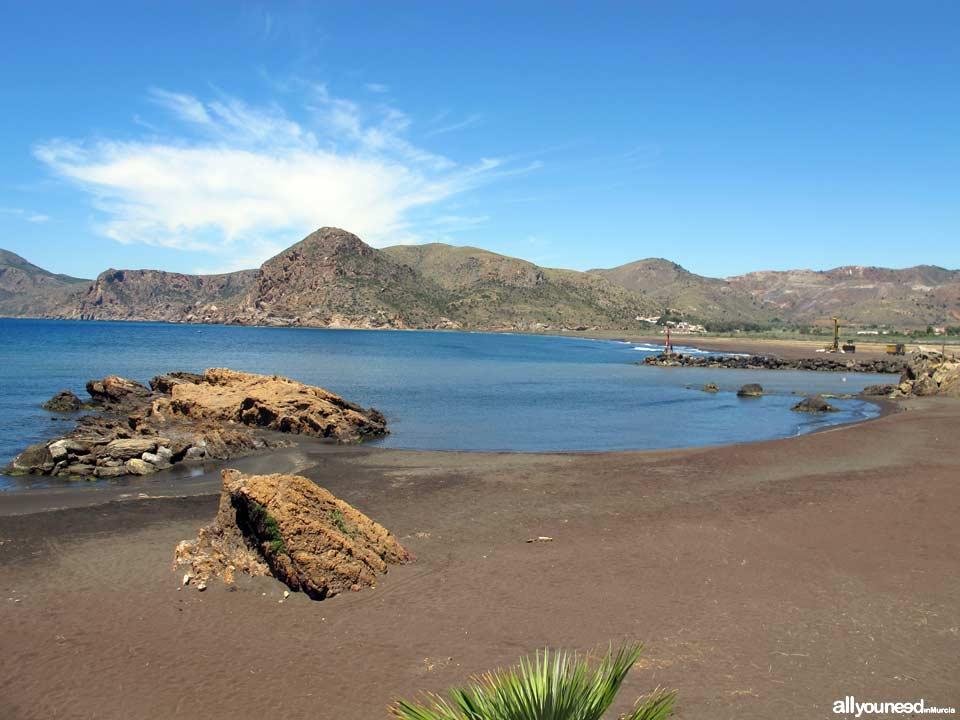 Playa del Lastre en Portman