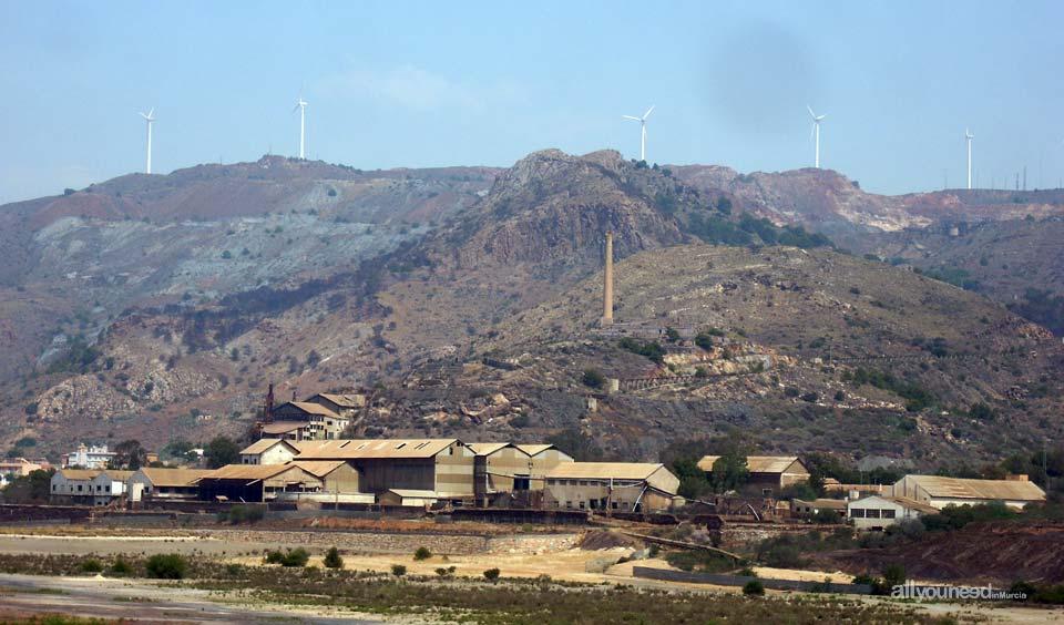 Explotación minera en Portman