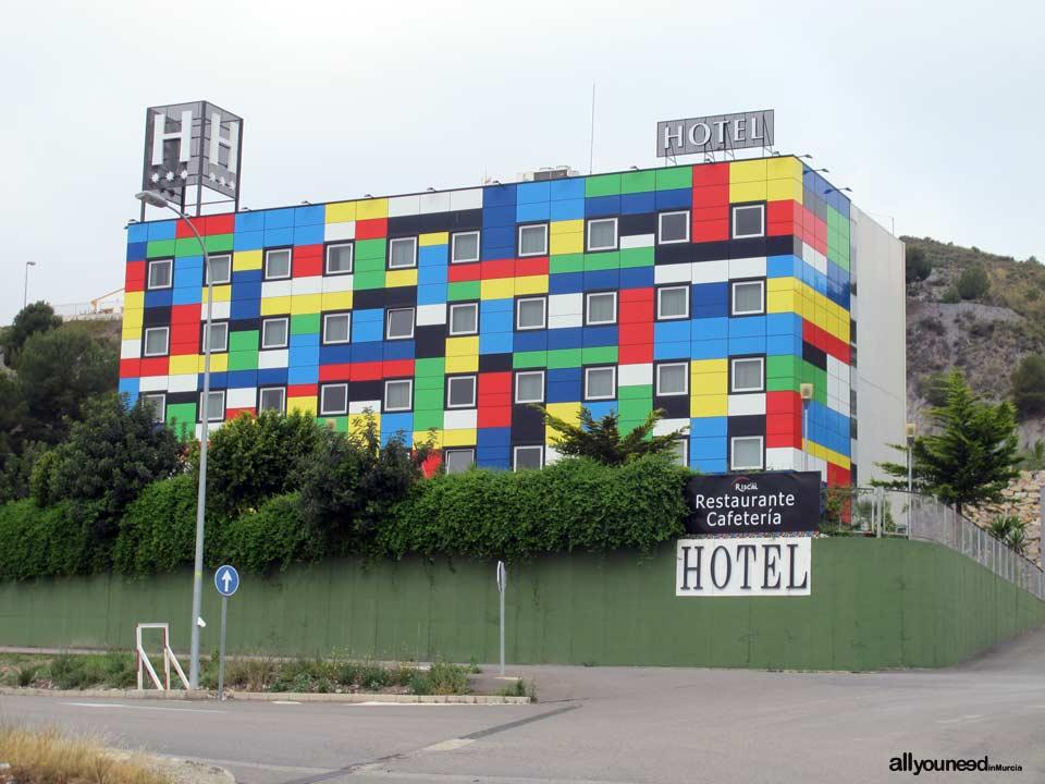 Hotel Riskal en Puerto Lumbreras