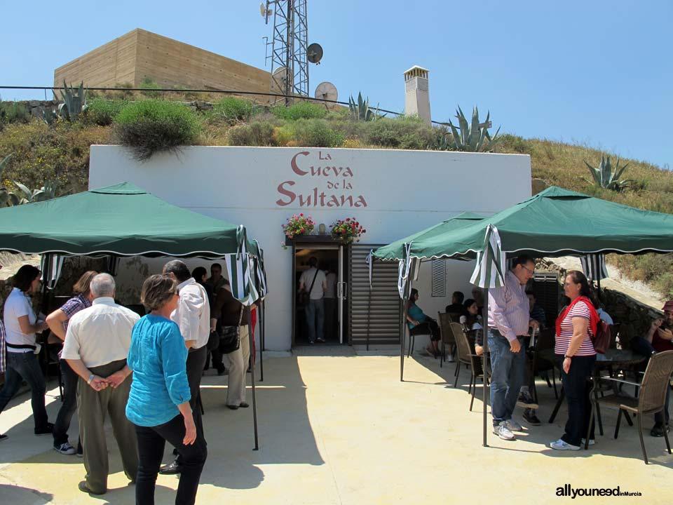 Bar la Cueva de la Sultana en el Castillo de Nogalte, Puerto Lumbreras