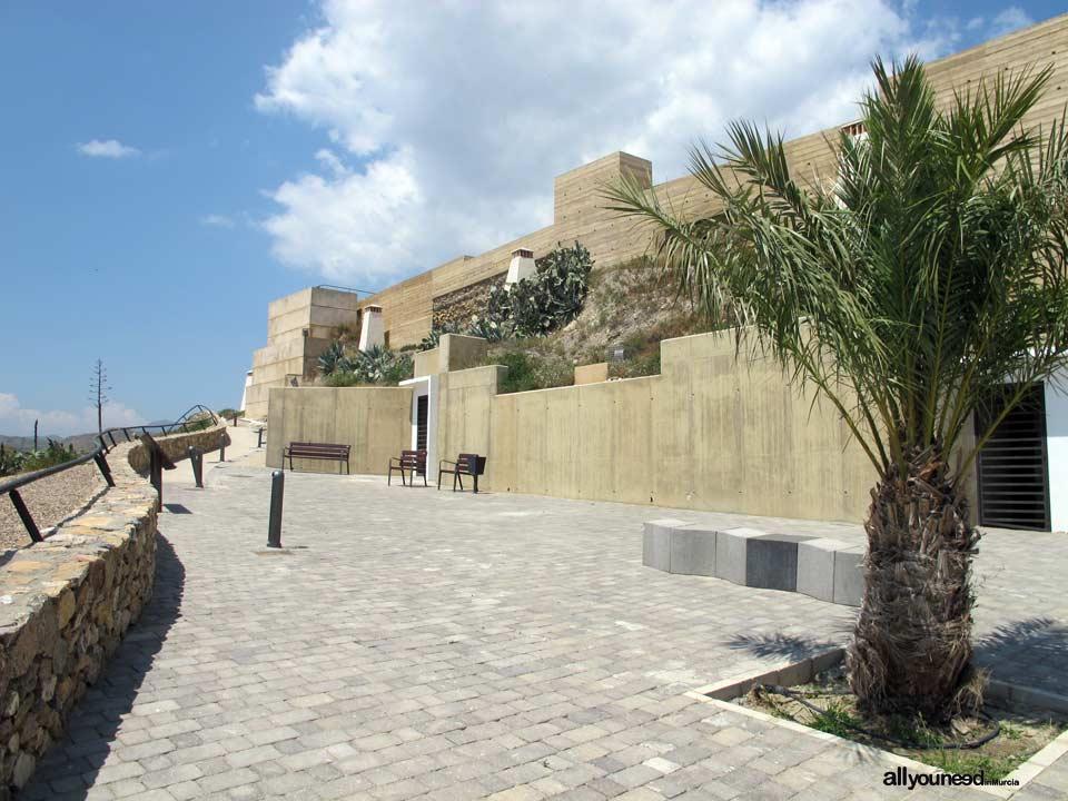 Castillo de Nogalte y Casas Cueva. Puerto Lumbreras. Murcia. Castillos de España