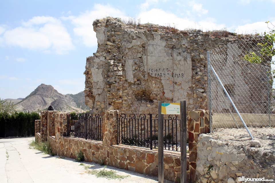 Ermita Nuestra Señora de las Huertas en Ricote