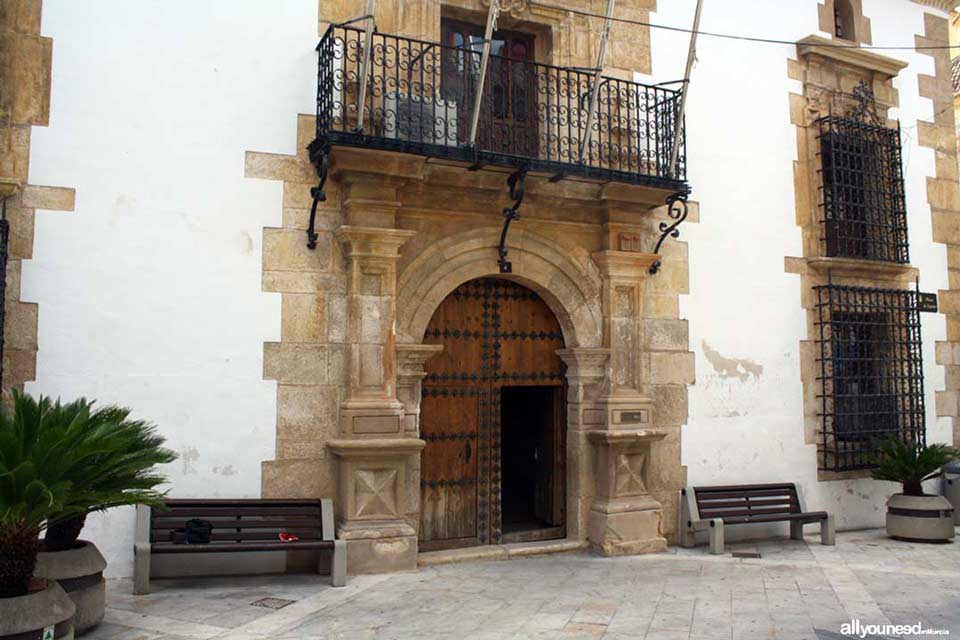 Ayuntamiento Ricote - Palacio de Llamas