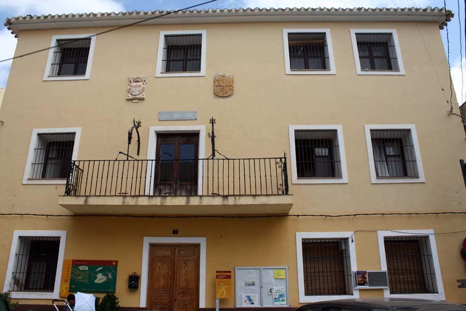 Casa de la Villa en Ricote