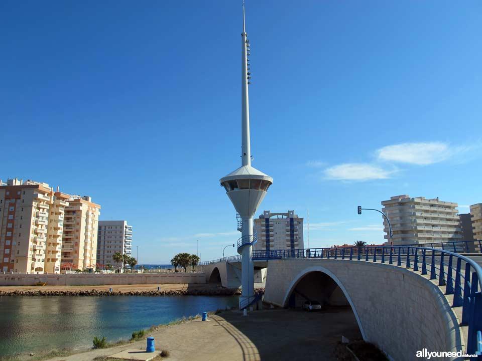 Puente elevadizo en el Estacio. La Manga del Mar Menor