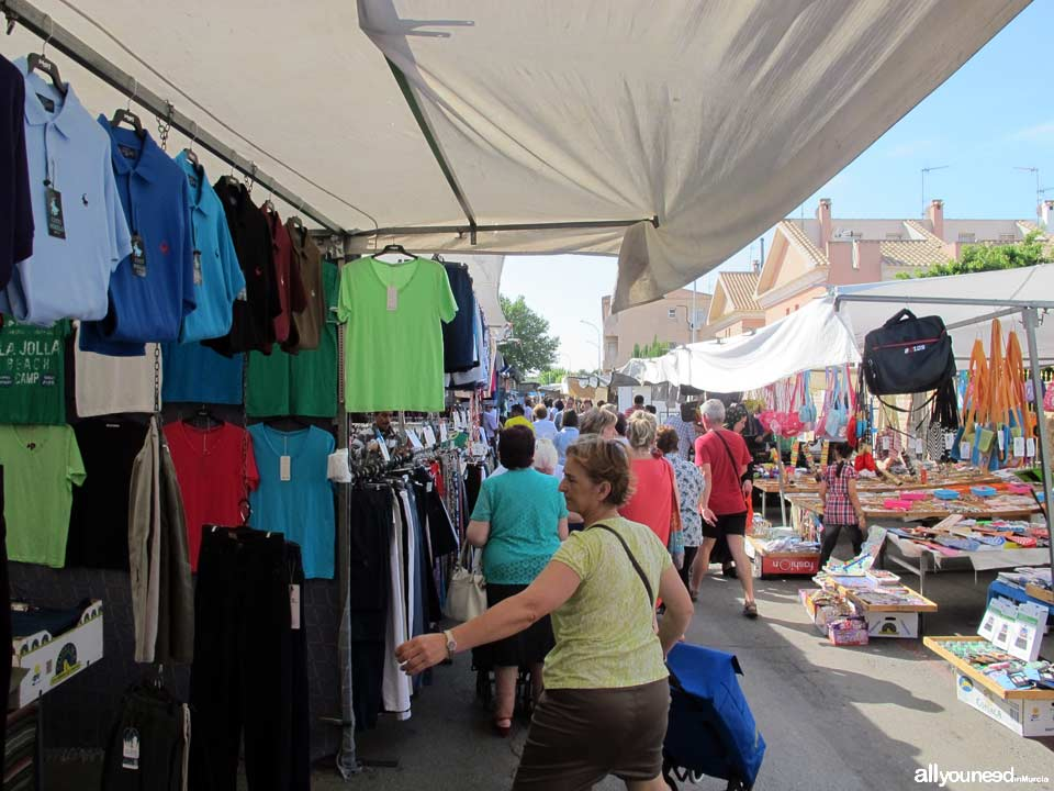 Mercado Semanal de San Javier
