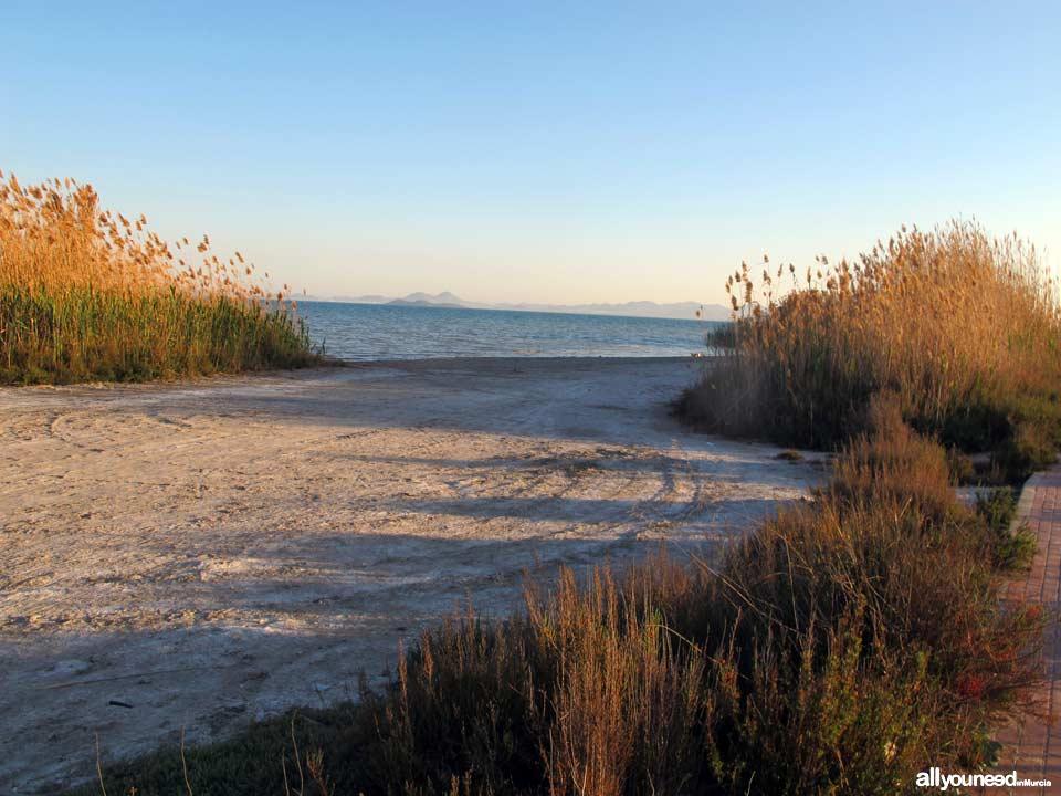 Playa de la Hita en los Alcázares