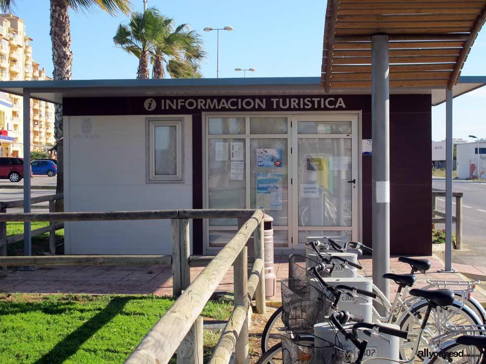 Punto de informaci n tur stica en la manga del mar menor for Oficina turismo murcia