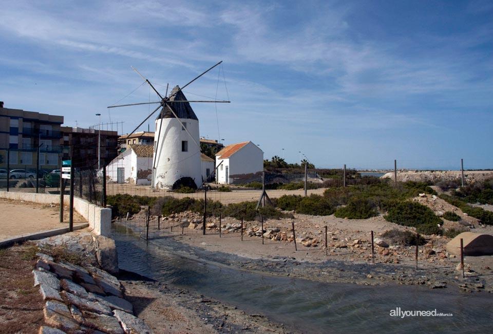 Molino de Quintín en San Pedro del Pinatar