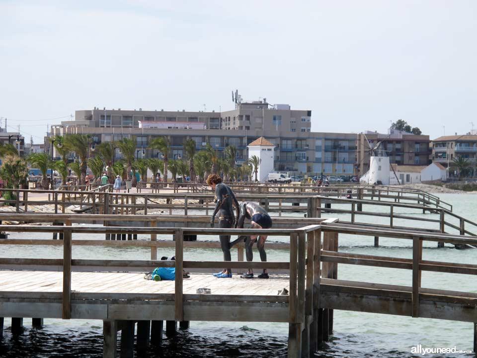 Pin playas en san pedro del pinatar playas en puerto de - Casas de alquiler en san pedro del pinatar particulares ...