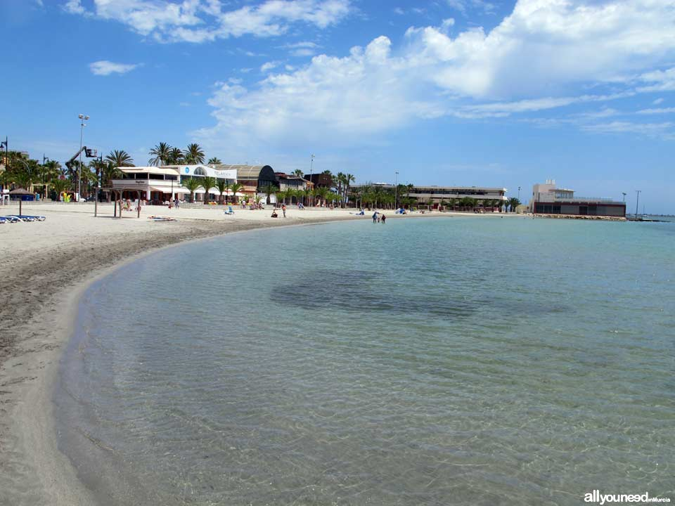 Playa de la Puntica en San Pedro del Pinatar