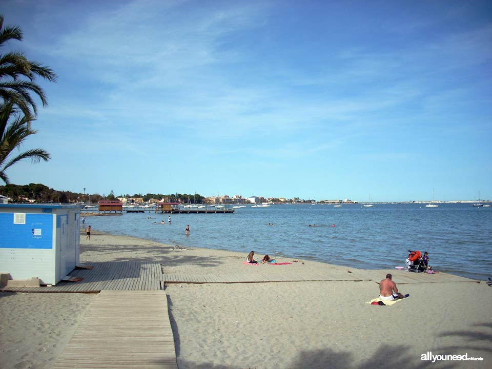 Playa Colón. Santiago de la Ribera