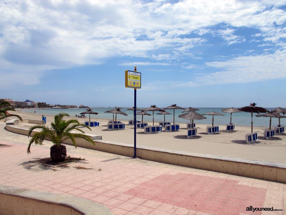 Playa el Castillico