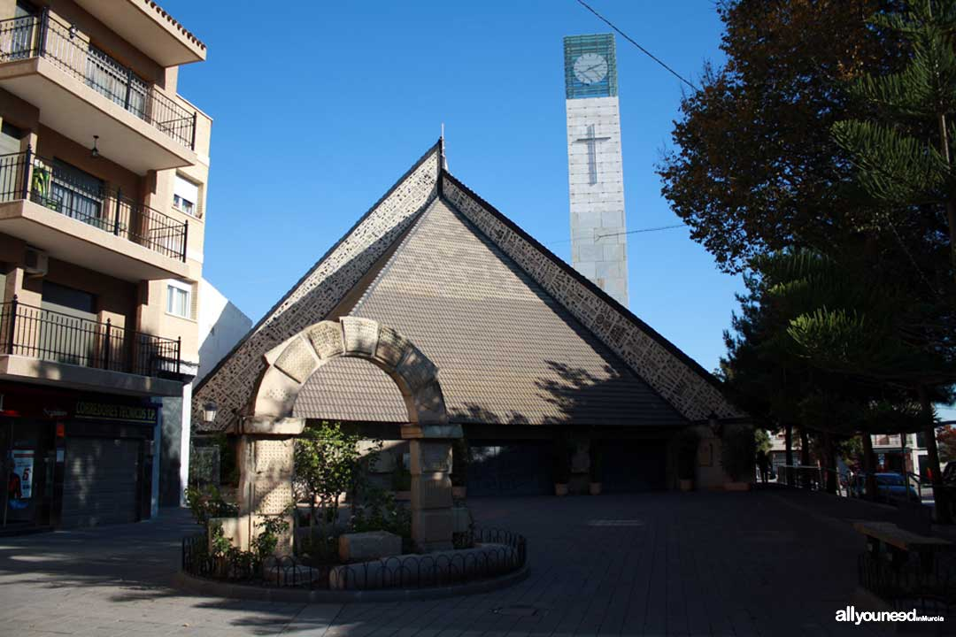 Torre Pacheco. Plaza Nuestra Señora del Rosario
