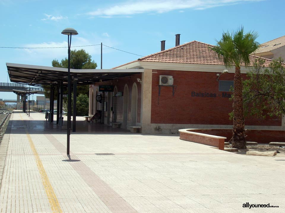 Estación de tren de Balsicas