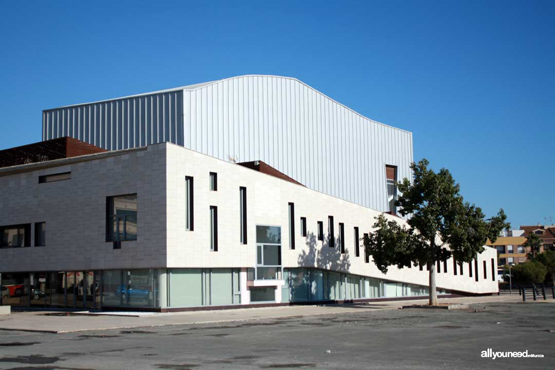 Centro de Artes Escénicas en Torre Pacheco. CAES