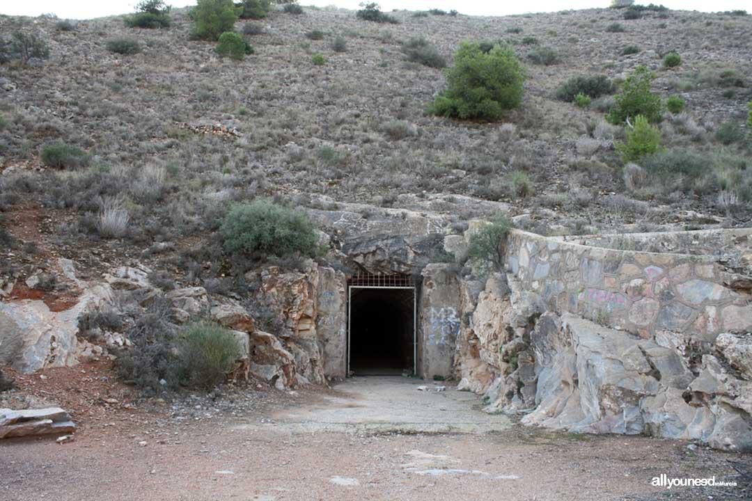 Subida al Cabezo Gordo. Torre Pacheco. Salida túnel