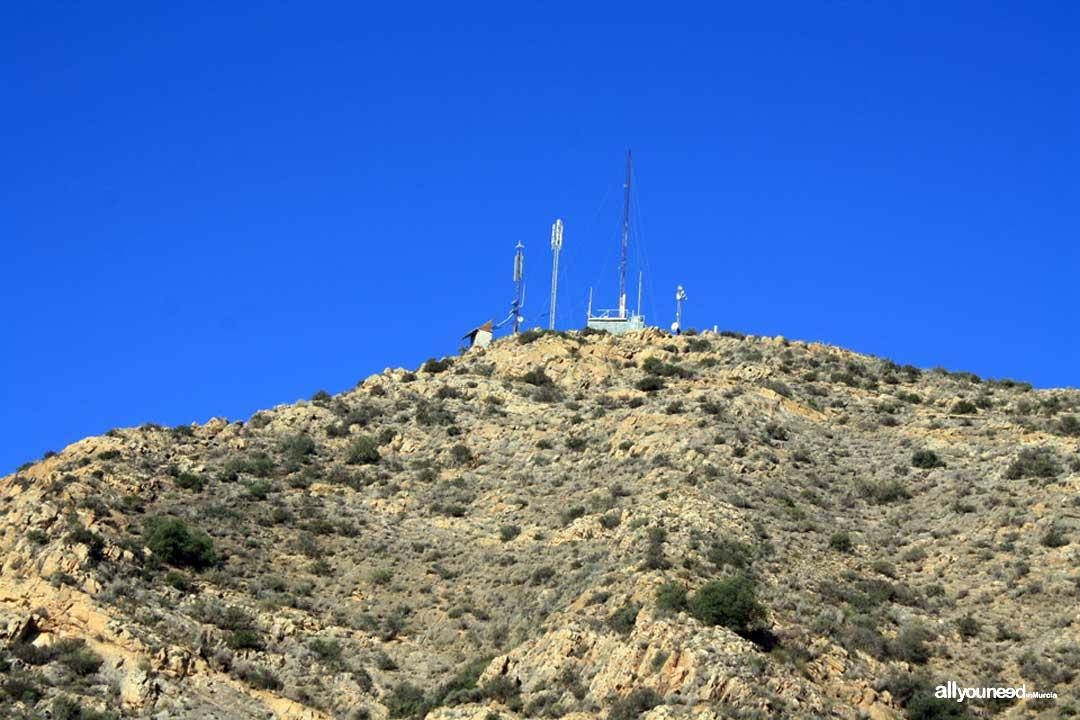 Subida al Cabezo Gordo. Torre Pacheco. Antenas