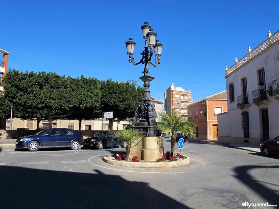 Plaza Juan de la Cierva en Totana